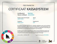 Smarttouch Certificaat Kassa NL